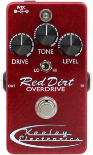 Keeley Red Dirt Overdrive 2