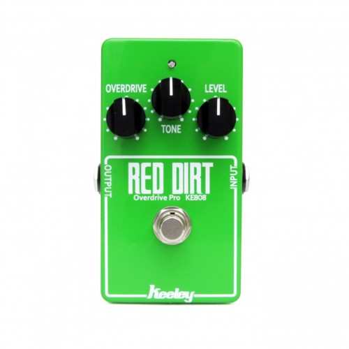 Keeley KE-808 Red Dirt Professional Overdrive Limited Edition