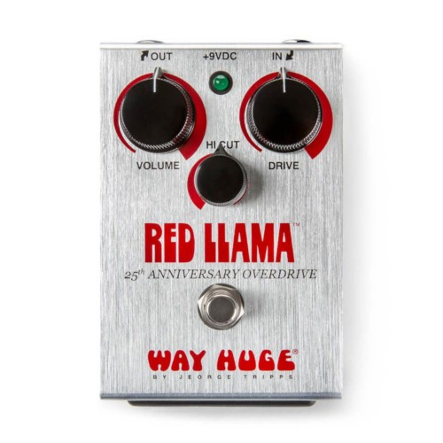 Way Huge WHE206 Red Llama 25th Ann Distortion Pedal LTD Edition