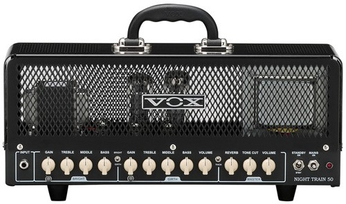 Vox Night Train 50 Head Gen 2 Harma EL34 Retro Full Revalve Kit