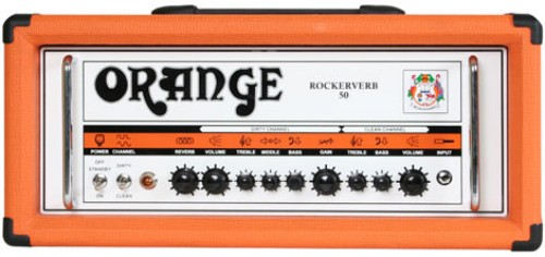 Orange Rockerverb 50 MK1 Classic Philips 6V6GT Full Upgrade Kit