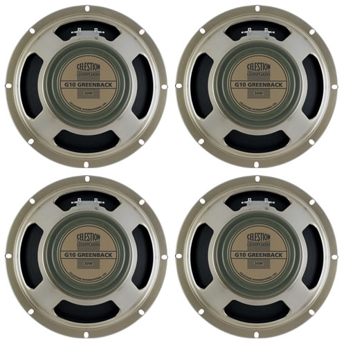 Celestion G10 Greenback 30 8 Ohm 4 off