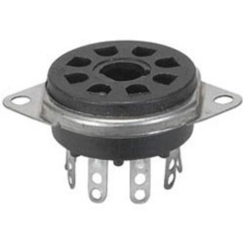 8 Pin Octal Celanex Valve Socket Chassis Mount