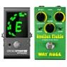 Way Huge WM41 Smalls Swollen Pickle Fuzz Mk 3 + Peterson Strobostomp HD Pedal Tuner